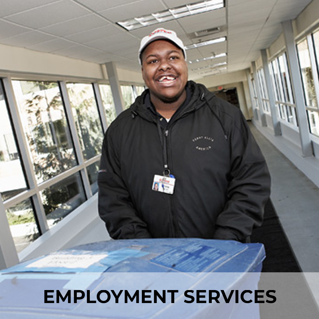 EMPLOYMENT SERVICES Empowering people with disabilities to find great jobs in businesses that need their talent and skills. Everyone deserves to experience the satisfaction of a job well done. Do you or someone you know have a disability and want to work? AtWork! can help!