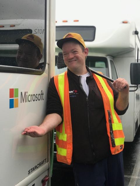 Michael, employed at Microsoft Transportation