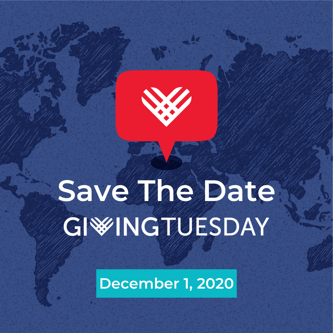 Giving Tuesday Save the Date December 1, 2020