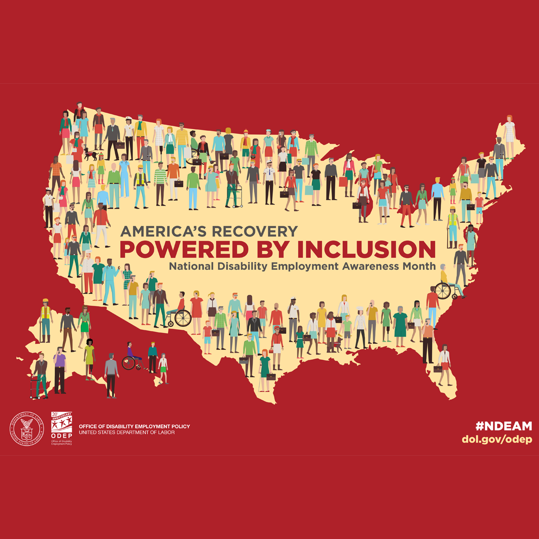 NDEAM 2021, America's Recovery: Powered by Inclusion